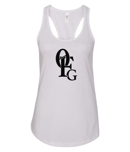 white 0FG women's tank top