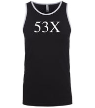 Load image into Gallery viewer, black 53x mens tank top