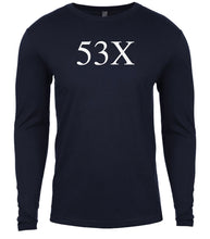 Load image into Gallery viewer, navy 53x mens long sleeve shirt