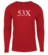 Load image into Gallery viewer, red 53x mens long sleeve shirt