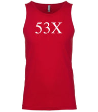 Load image into Gallery viewer, red 53x mens tank top