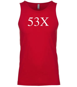 red 53x mens tank top