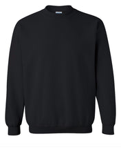 Load image into Gallery viewer, black crewneck sweatshirt