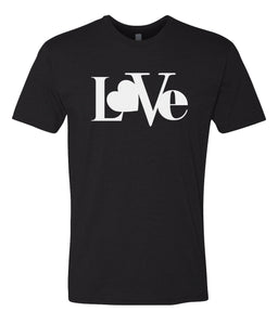 black love valentines day t-shirt