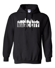 Load image into Gallery viewer, black Miami Magic City Hoodie