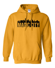 Load image into Gallery viewer, gold Miami Magic City Hoodie