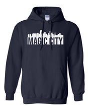 Load image into Gallery viewer, navy Miami Magic City Hoodie