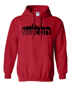 red Miami Magic City Hoodie