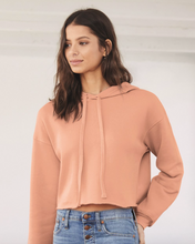 Load image into Gallery viewer, Customizable Women's Cropped Hoodie
