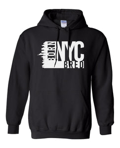 black New York City hoodie