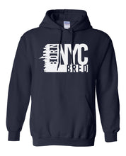 Load image into Gallery viewer, navy New York City hoodie