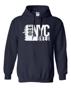 navy New York City hoodie