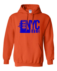 orange New York City hoodie