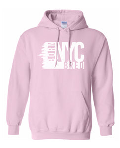 pink New York City hoodie