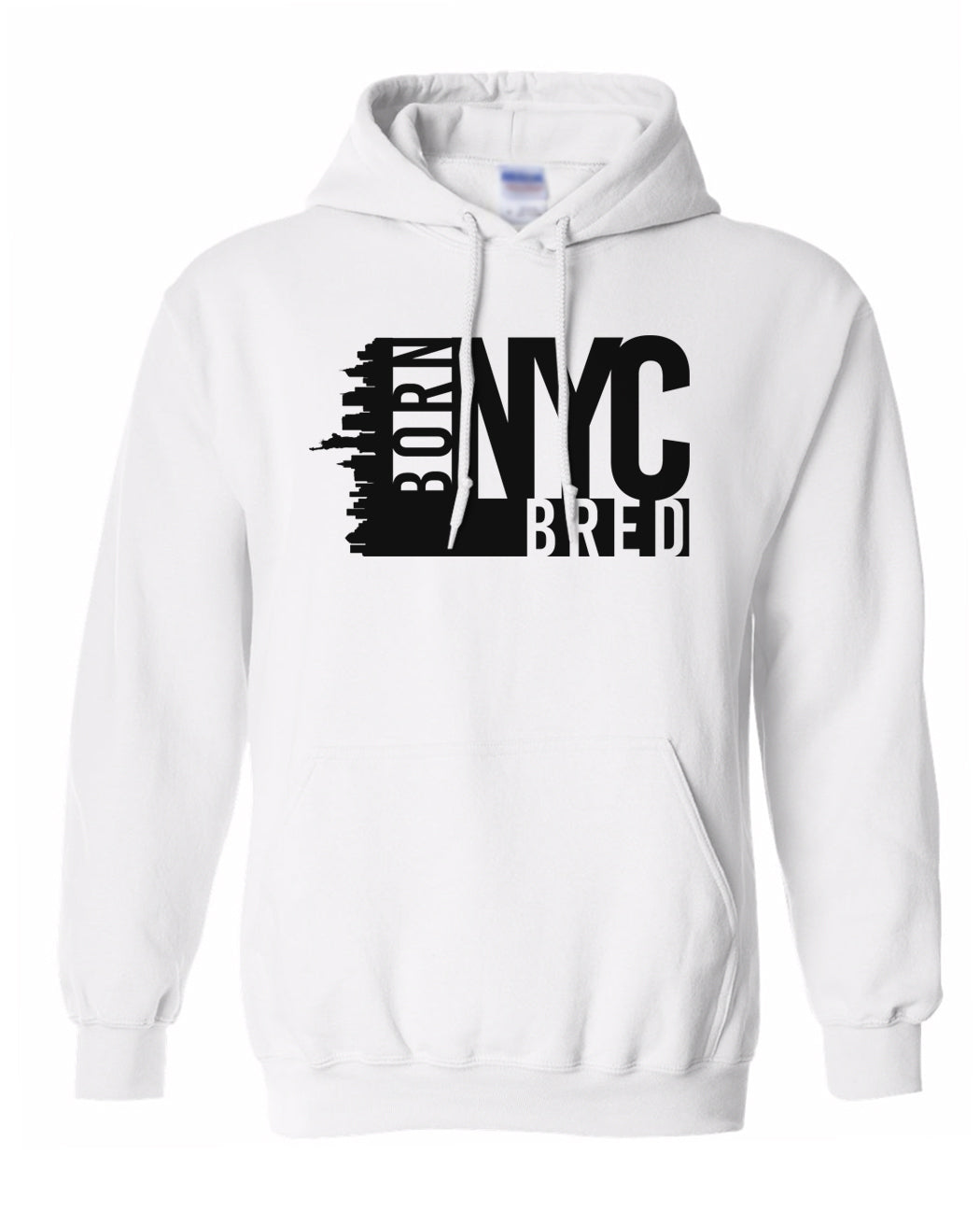 white New York City hoodie