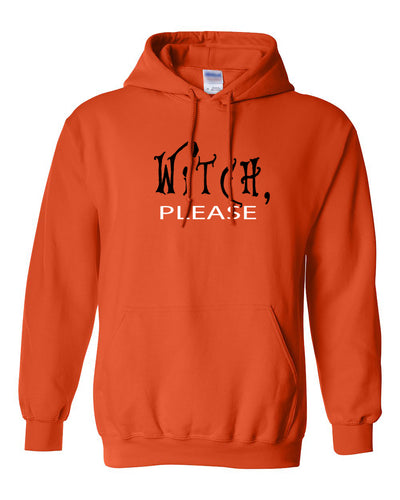 witch please halloween hoodie