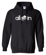 Load image into Gallery viewer, black all in pullover hoodie