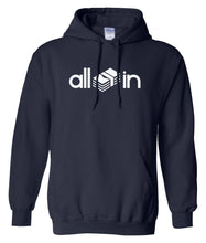 Load image into Gallery viewer, navy all in pullover hoodie