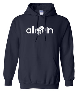 navy all in pullover hoodie