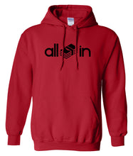 Load image into Gallery viewer, red all in pullover hoodie