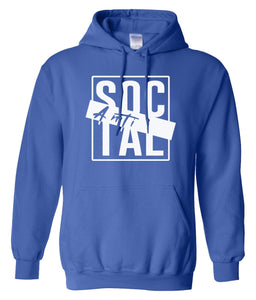 royal antisocial pullover hoodie