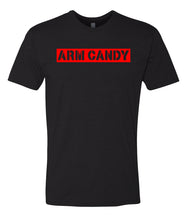 Load image into Gallery viewer, black arm candy crewneck t shirt