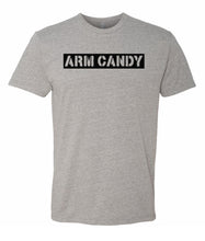 Load image into Gallery viewer, grey arm candy crewneck t shirt