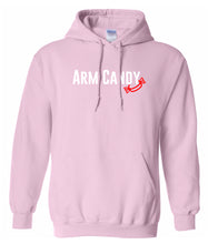 Load image into Gallery viewer, pink arm candy hooded sweatshirt