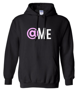 black at me hooded sweatshirt
