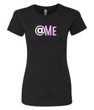 Load image into Gallery viewer, black at me crewneck women's t shirt
