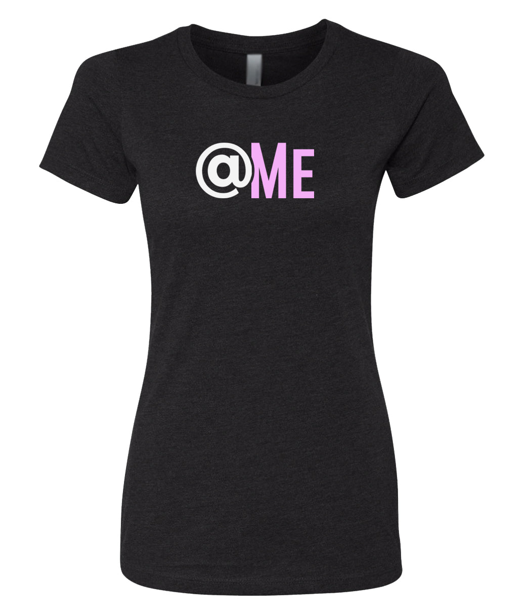 black at me crewneck women's t shirt