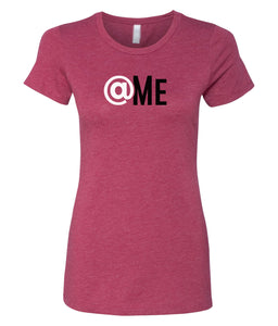 cardinal at me crewneck women's t shirt