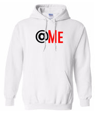 Load image into Gallery viewer, white at me pullover hoodie