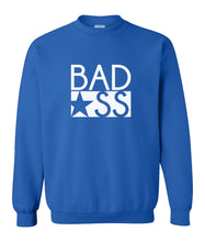 Load image into Gallery viewer, blue bad ass sweatshirt