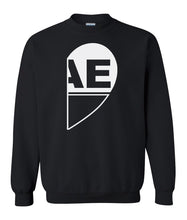 Load image into Gallery viewer, black BAE matching unisex Valentines day sweatshirt for couples