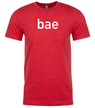 Load image into Gallery viewer, red bae Acronym mens Crewneck T shirt