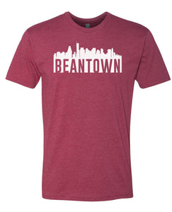 cardinal Bean Town Boston T-shirt
