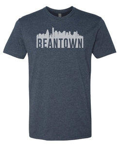 navy Bean Town Boston T-shirt
