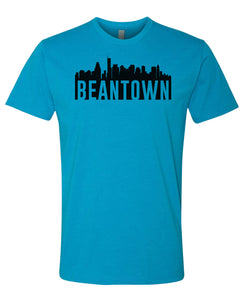 turquoise Bean Town Boston T-shirt