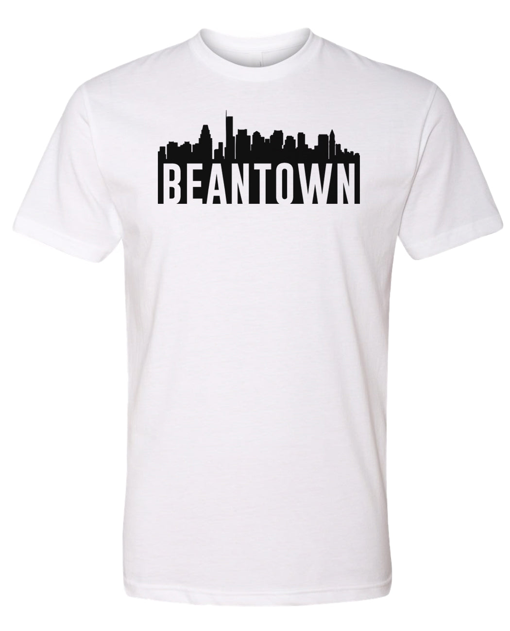 white Bean Town Boston T-shirt