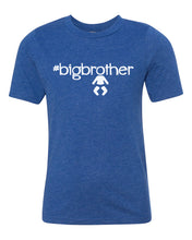 Load image into Gallery viewer, big brother youth boy tee shirt