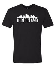 Load image into Gallery viewer, black New Orleans big easy t-shirt
