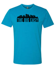Load image into Gallery viewer, turquoise New Orleans big easy t-shirt