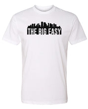 Load image into Gallery viewer, white New Orleans big easy t-shirt