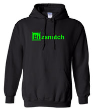 Load image into Gallery viewer, black bizsnatch pullover hoodie