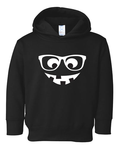 pumpkin face toddler halloween hoodie