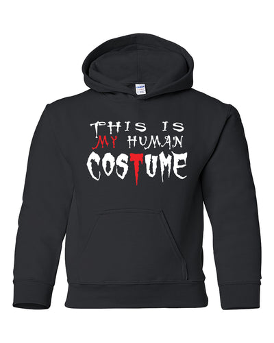 human costume halloween youth hoodie