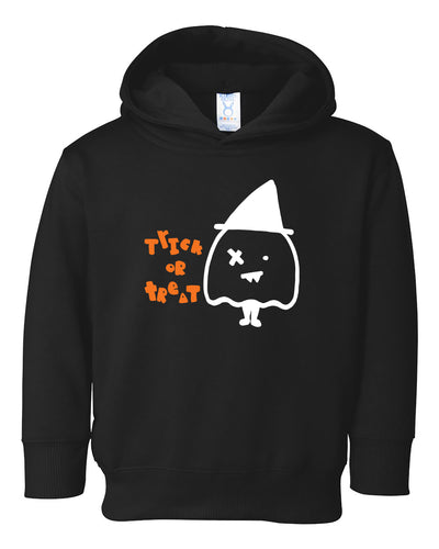 trick or treat halloween toddler hoodie