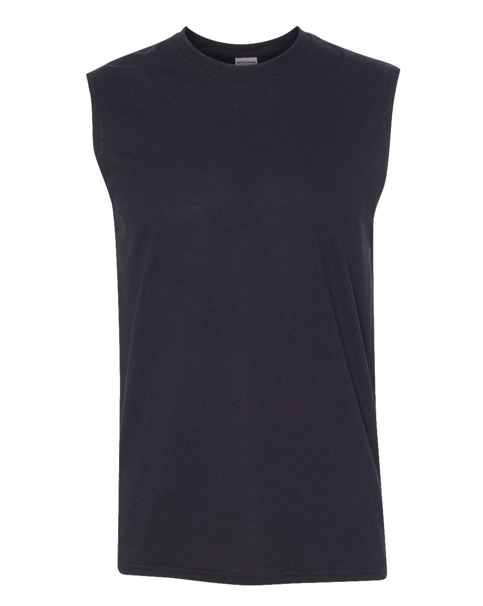 black men's sleeveless t-shirt