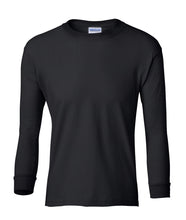Load image into Gallery viewer, black youth long sleeve t shirt